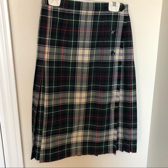Vintage Dresses & Skirts - Vintage Wool Surrey Classics Kilt